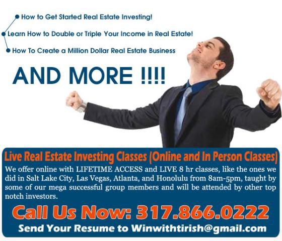 Live Real Estate Investing Classes that Leads Success