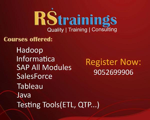 Best Tableau Training Institute