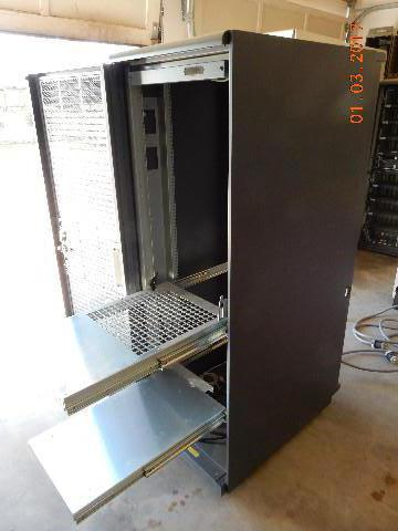 "Digital 72"" HIGH QUALITY SERVER RACK C/W 2 PDU'S-TWO SLIDING"