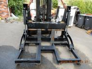 New EFI - Finning Pipe- Pole Forklift Excavator Grapple 12000 lb Capacity A