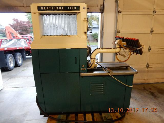 Diesel Fuel Injection Test Bench Hartridge Model 1100 Mint Condition