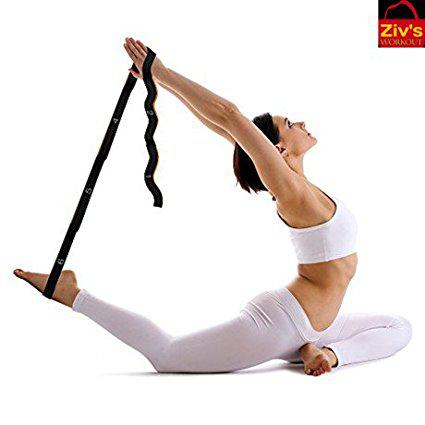 Ziv's Workout Elastic Stretching Strap-Resistance Band