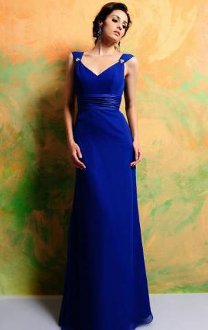 Online Royal Blue Bridesmaid Dress BNNAD1207